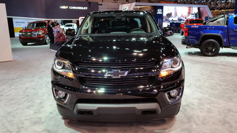 2016 chevrolet colorado z71 midnight edition picture 665442 truck review top speed. Black Bedroom Furniture Sets. Home Design Ideas
