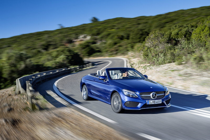 2017 Mercedes-Benz C-Class Cabriolet High Resolution Exterior Wallpaper quality - image 667516