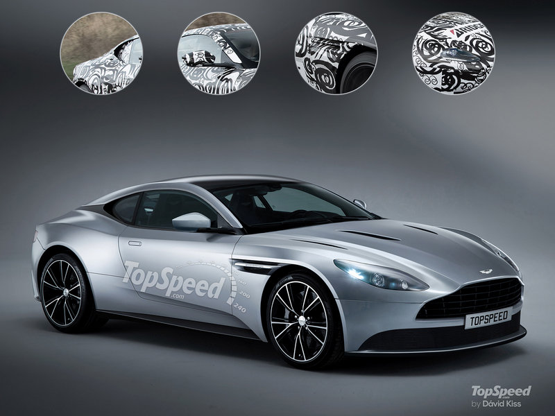 2017 Aston Martin DB11 Exterior Exclusive Renderings Computer Renderings and Photoshop - image 663852
