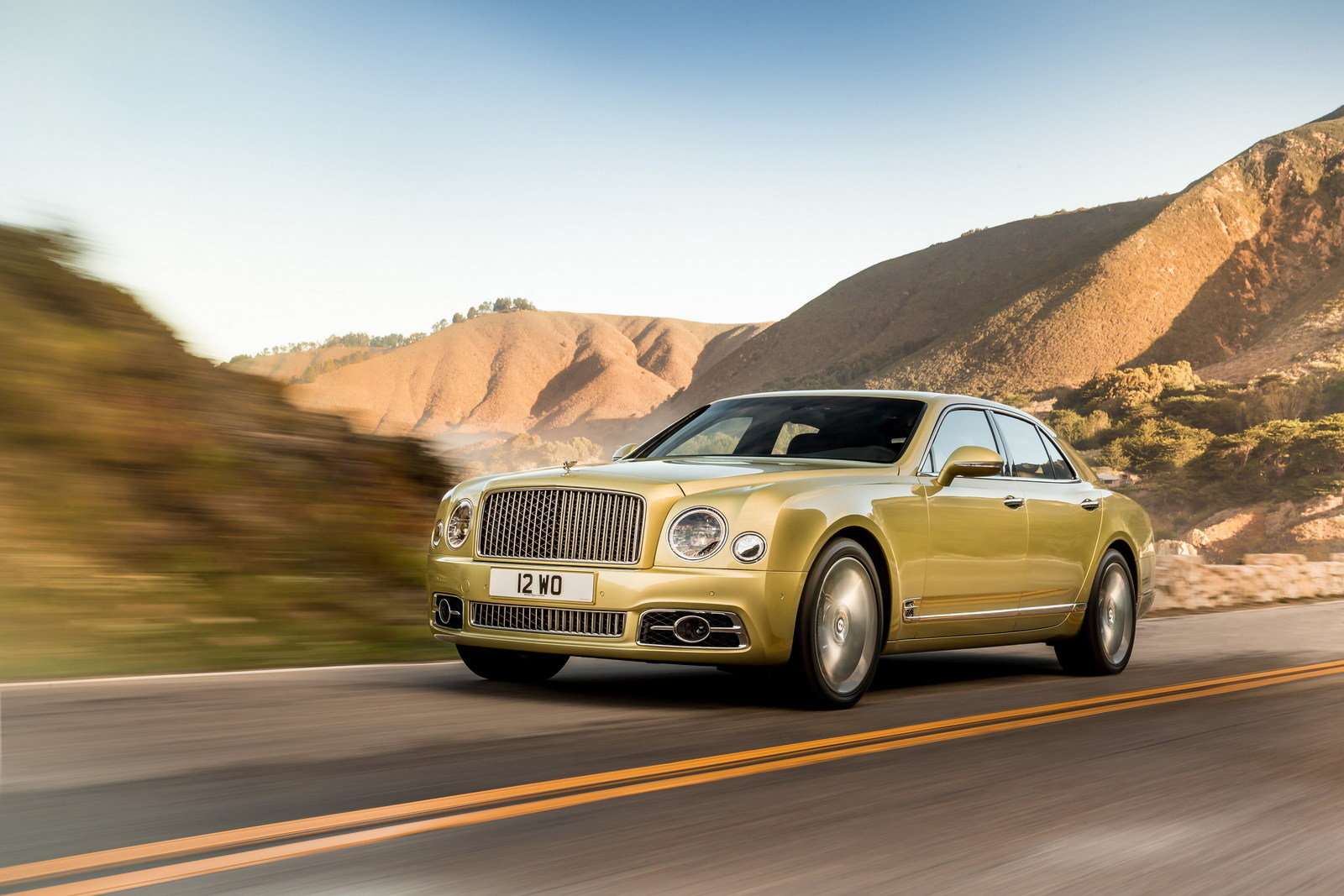 2017 Bentley Mulsanne Picture 666940 Car Review Top