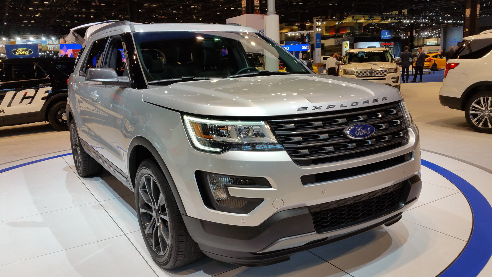 2017 Ford Explorer Xlt Sport Appearance Package Picture 665415 Car Review Top Speed