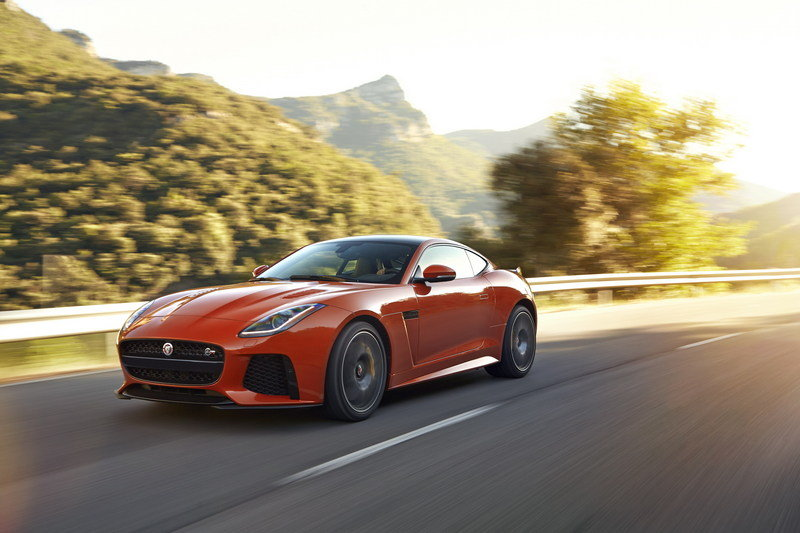 2017 Jaguar F-Type SVR Coupe High Resolution Exterior - image 666147