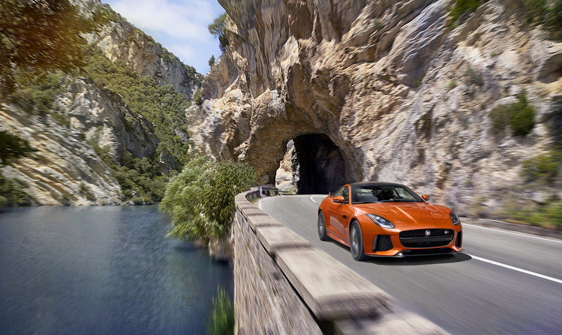 2017 Jaguar F-Type SVR Coupe High Resolution Exterior - image 666143
