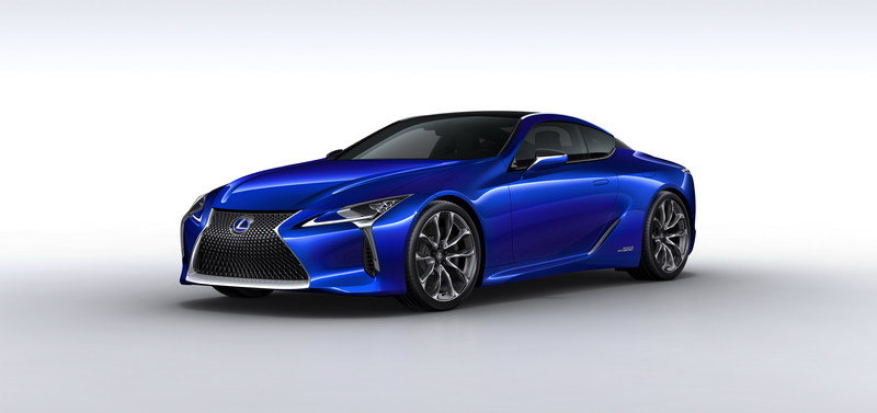 2017 Lexus LC 500h High Resolution Exterior - image 666379