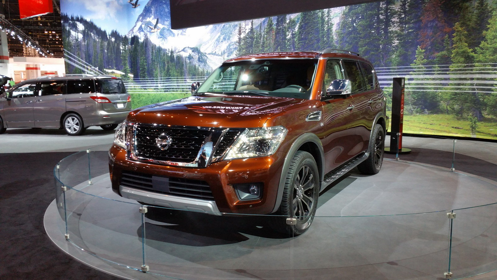new redesigned nissan armada autos weblog. Black Bedroom Furniture Sets. Home Design Ideas