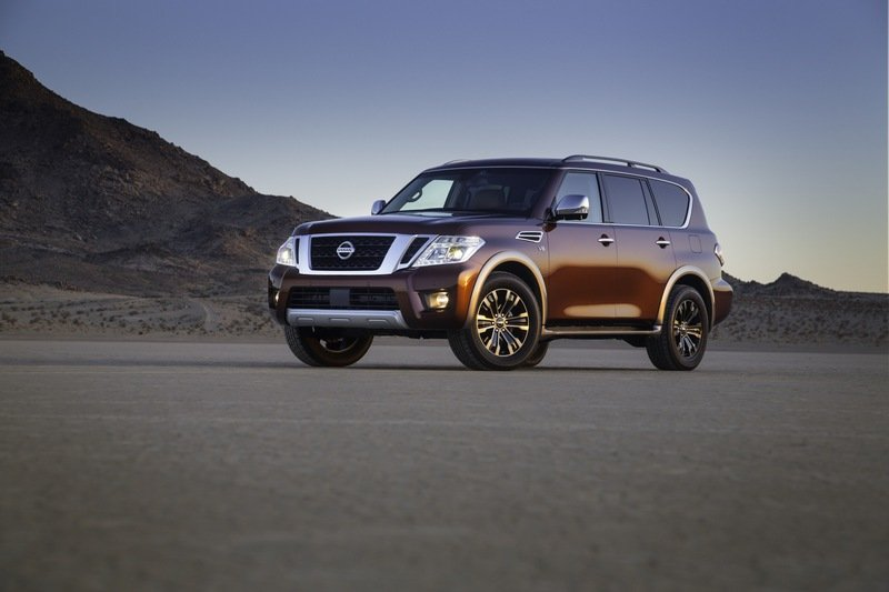 2017 Nissan Armada Unveiled High Resolution Exterior - image 664992