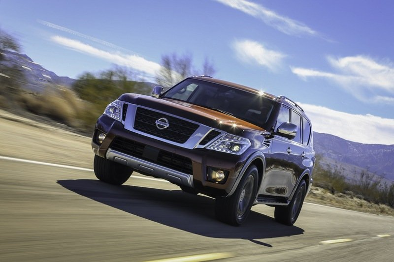 2017 Nissan Armada Unveiled High Resolution Exterior Wallpaper quality - image 664999