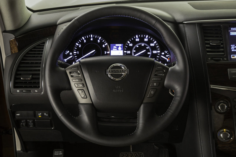 2017 - 2020 Nissan Armada High Resolution Interior - image 665004
