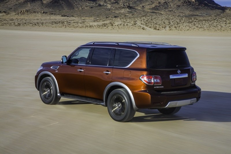 2017 - 2020 Nissan Armada High Resolution Exterior - image 664984
