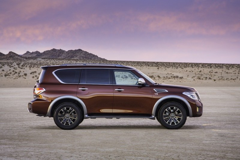 2017 - 2020 Nissan Armada High Resolution Exterior - image 664986