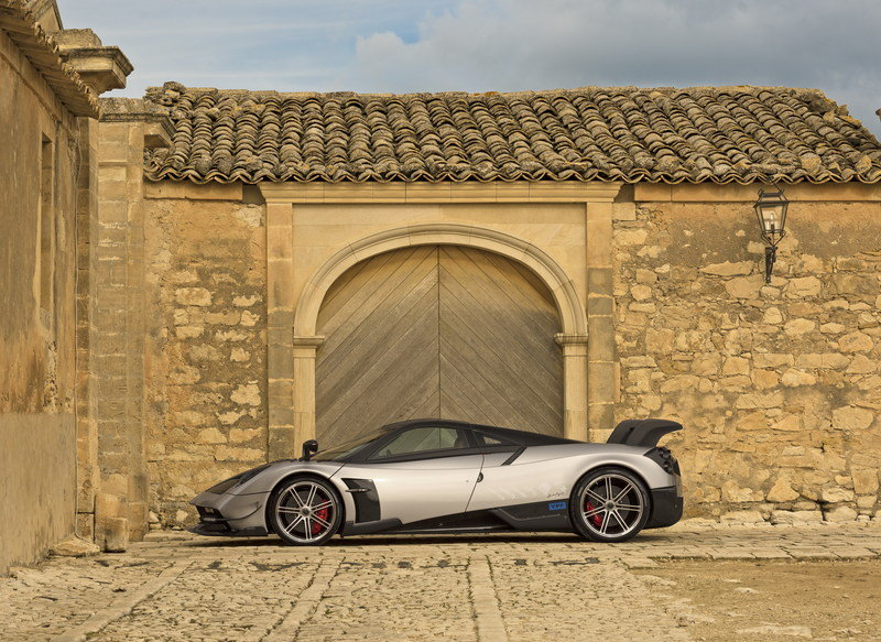 Here's What Randy Pobst Has to Say After Test Driving the Pagani Huayra