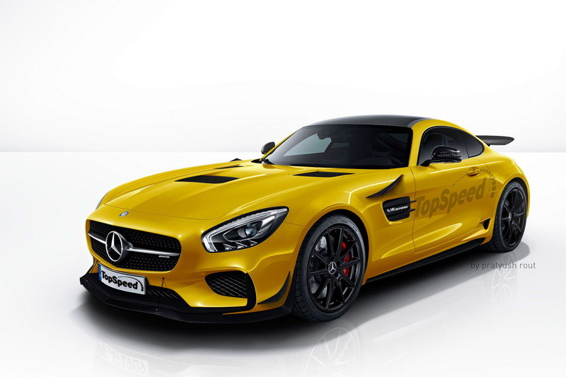 2018 Mercedes-AMG GT R Exterior Exclusive Renderings Computer Renderings and Photoshop - image 663952