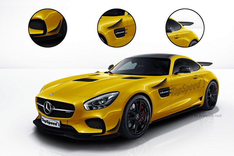 2018 Mercedes-AMG GT R Exterior Exclusive Renderings Computer Renderings and Photoshop - image 663951