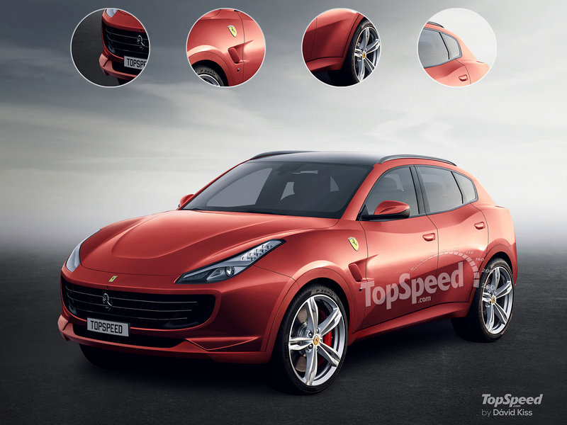 The Ferrari Purosangue Is Scheduled to Arrive in 2021 and It May Even Pack a V-12 After All