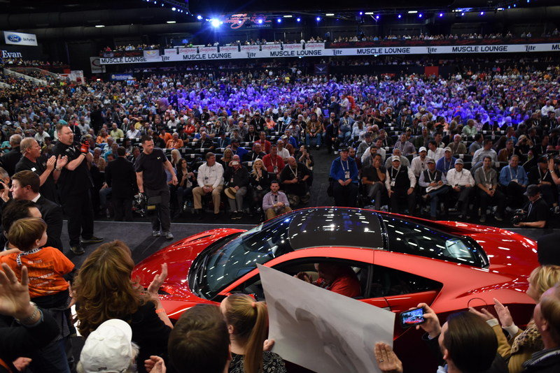 Acura NSX 001 Fetches $1.2 MIllion At Barrett-Jackson Auction - image 663866