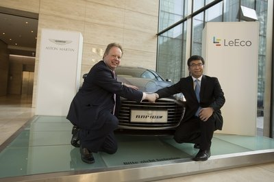 Aston Martin Announces Partnership With Chinese Tech Firm LeEco