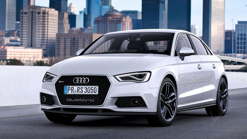 Audi RS3 Sedan Headed To The US
