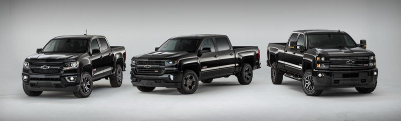 2016 Chevrolet Silverado 1500 Z71 Midnight Special Edition