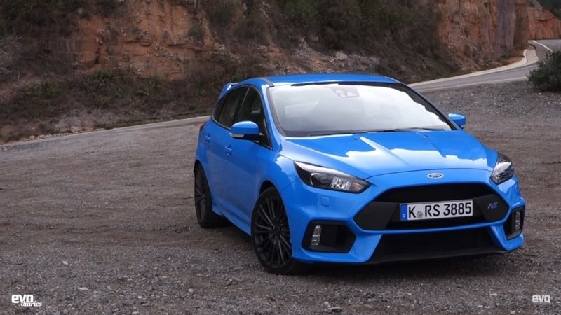 EVO Diaries Puts The 2016 Ford Focus RS In The Spotlight: Video