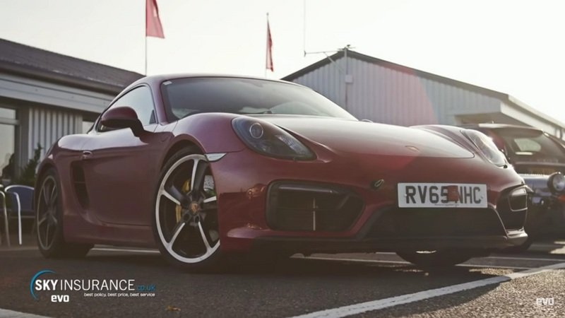 Evo Drives The Porsche Cayman GTS: Video