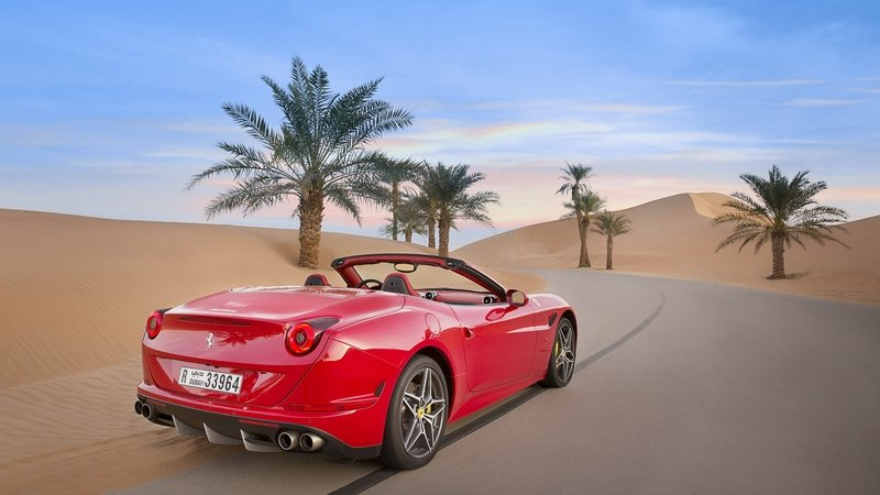 "Ferrari Pays Tribute to the Middle East With ""Deserto Rosso:"" Video"