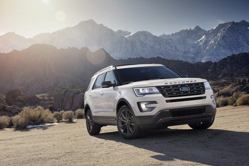 2017 Ford Explorer XLT Sport Appearance Package High Resolution Exterior Wallpaper quality - image 664855