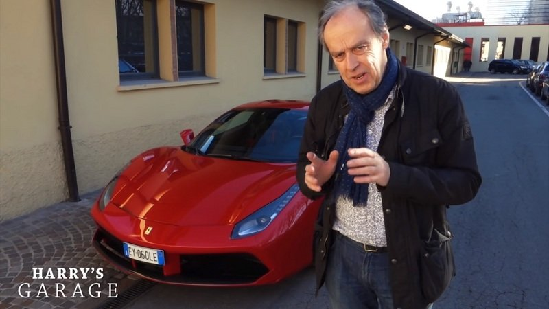Harry Metcalfe Takes The Ferrari 488 GTB Out For A Spin: Video