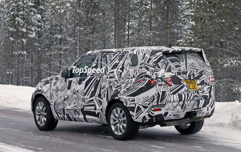 2017 Land Rover Discovery Exterior Spyshots - image 664082