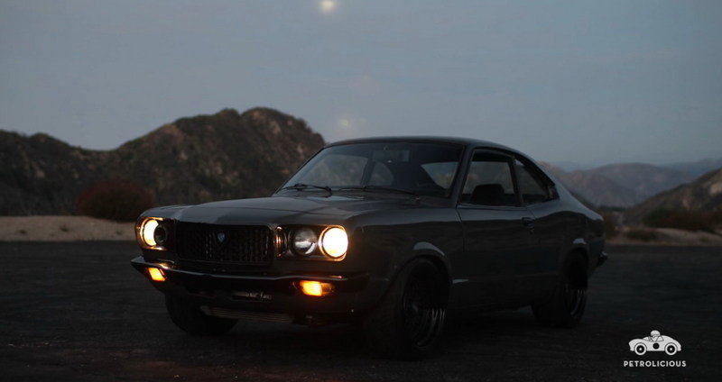 Love Comes In The Form Of This 1973 Mazda RX-3: Video