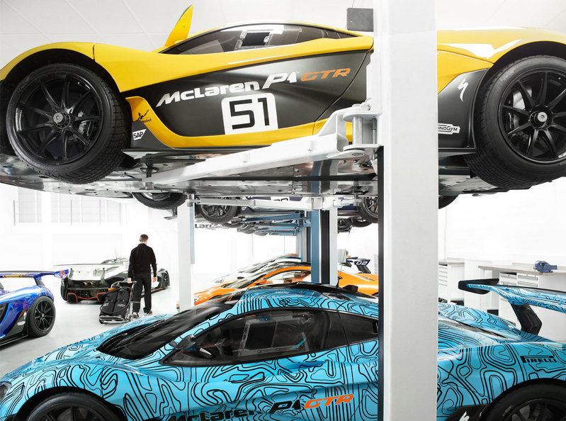 McLaren Drops Images Of The P1 GTR Workshop High Resolution Exterior - image 663969