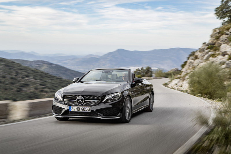 2017 Mercedes-AMG C 43 4Matic Cabriolet High Resolution Exterior - image 667536