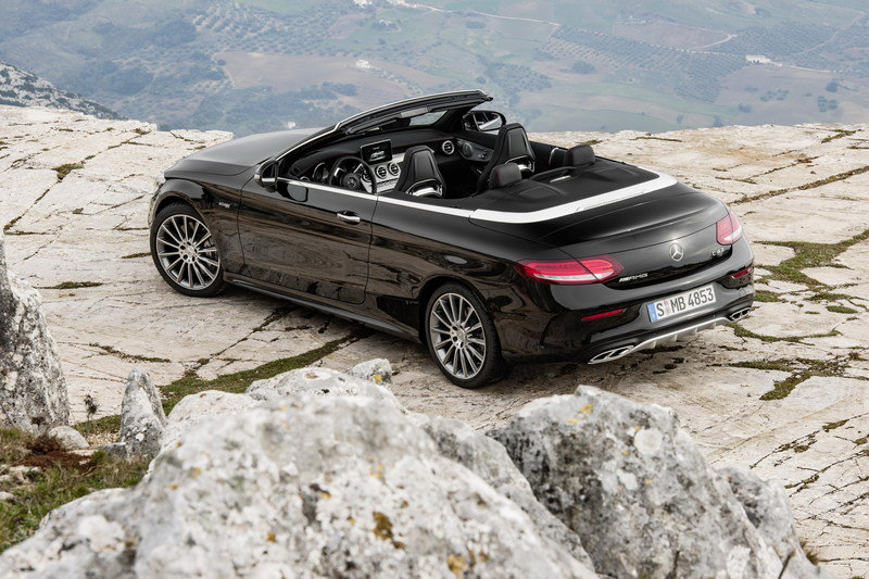 2017 Mercedes-AMG C 43 4Matic Cabriolet High Resolution Exterior - image 667541