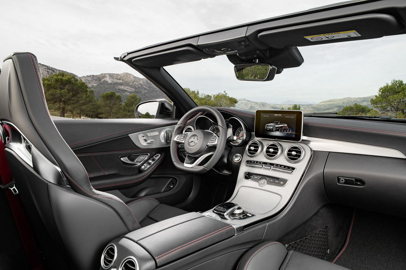 2017 Mercedes-AMG C 43 4Matic Cabriolet High Resolution Interior - image 667533
