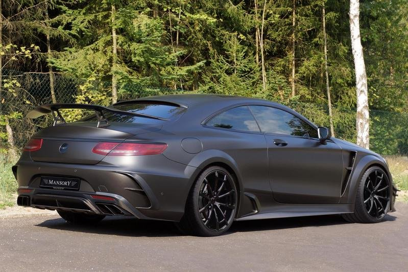 2016 Mercedes-AMG S63 Coupe Black Edition By Mansory