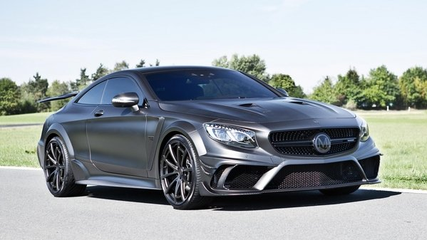 mercedes-amg s63 coupe black edition by mansory - DOC665512
