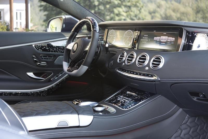 2016 Mercedes-AMG S63 Coupe Black Edition By Mansory High Resolution Interior - image 665506