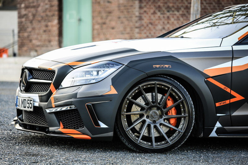 2016 Mercedes-Benz CLS 500 PD550 Black Edition Stealth By M&D Exclusive
