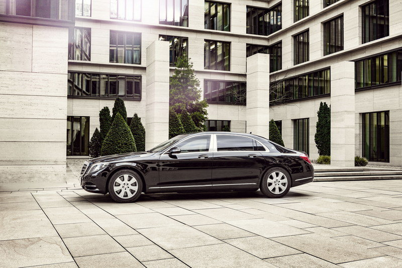 2016 Mercedes-Maybach S600 Guard High Resolution Exterior - image 666724