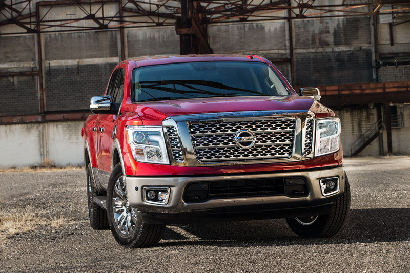 Where is the Nissan Titan's V-6 Option?