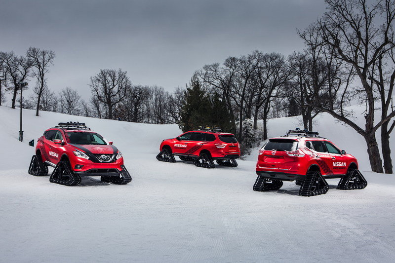 "2016 Nissan ""Winter Warrior"" Concepts"
