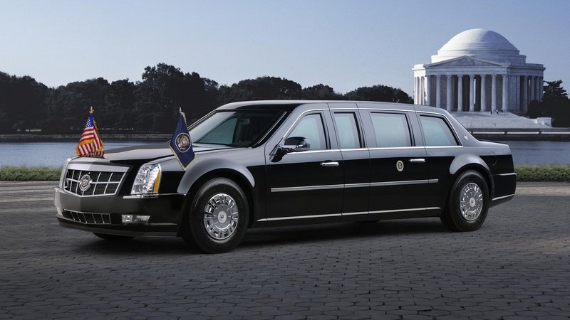 President Donald Trump's New Presidential Cadillac Limo