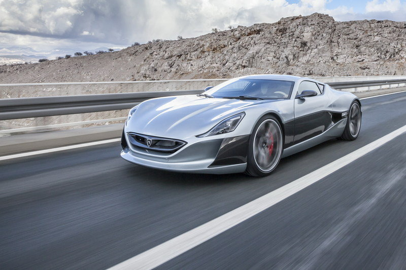 2017 Rimac Concept One High Resolution Exterior Wallpaper quality - image 666769