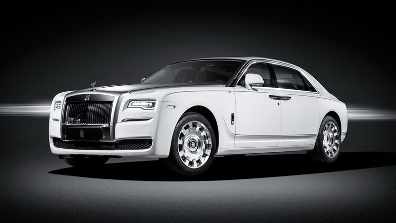 "2016 Rolls-Royce Ghost ""Eternal Love"" Collection"