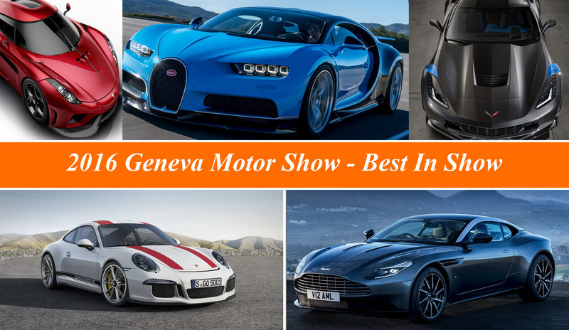2016 Geneva International Motor Show – Best In Show