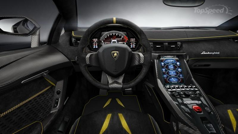 2016 Lamborghini Centenario High Resolution Interior - image 667621