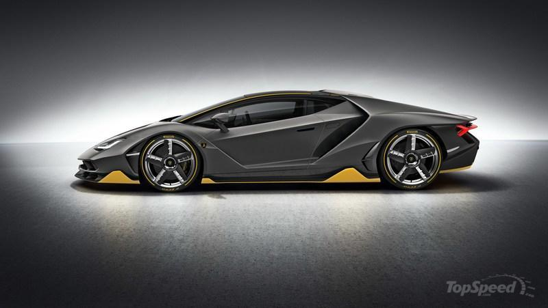 2016 Lamborghini Centenario Top Speed