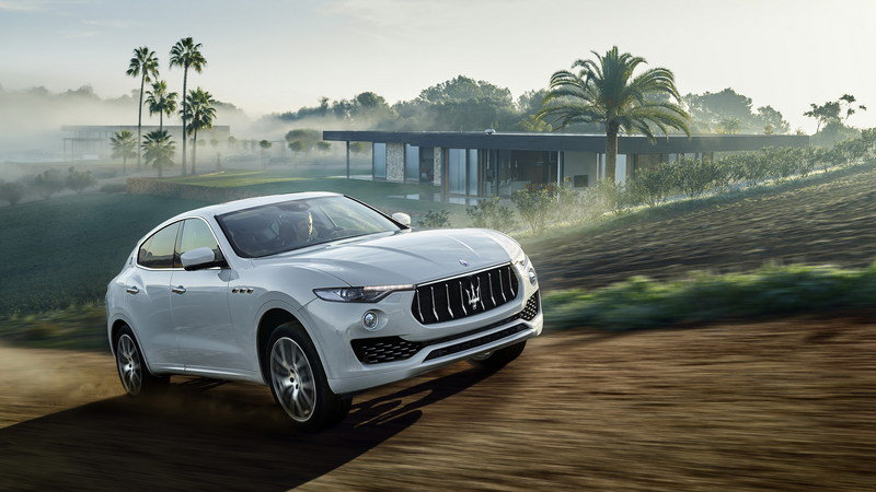 Wallpaper of the day: 2016 Maserati Levante