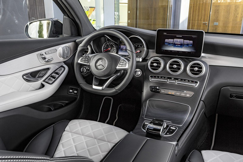 2017 Mercedes-Benz GLC Coupe High Resolution Interior - image 670290