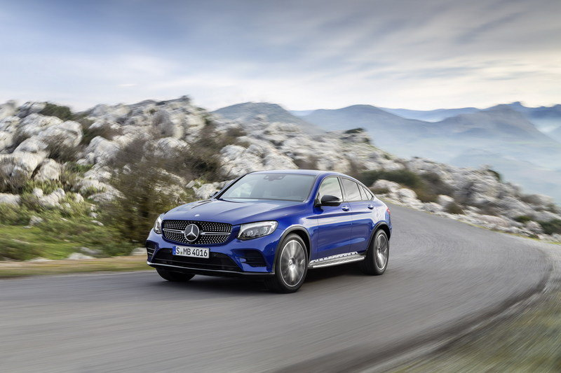 2017 Mercedes-Benz GLC Coupe High Resolution Exterior - image 670295