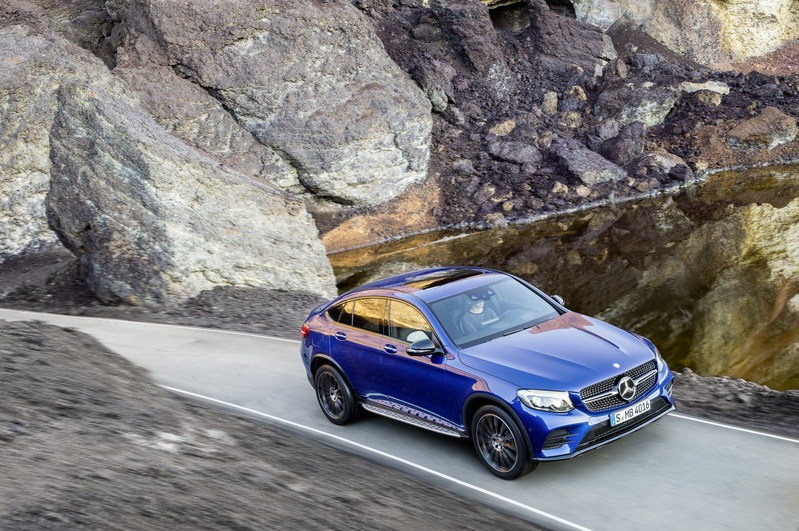 2017 Mercedes-Benz GLC Coupe High Resolution Exterior - image 670303